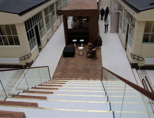 Terrazzogulv som arkitektonisk smykke