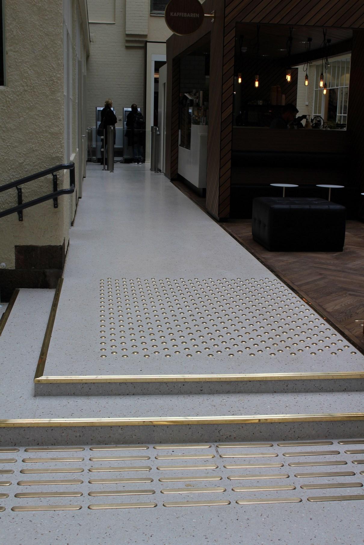 terrazzo i trapp Sjøfartsmuseet
