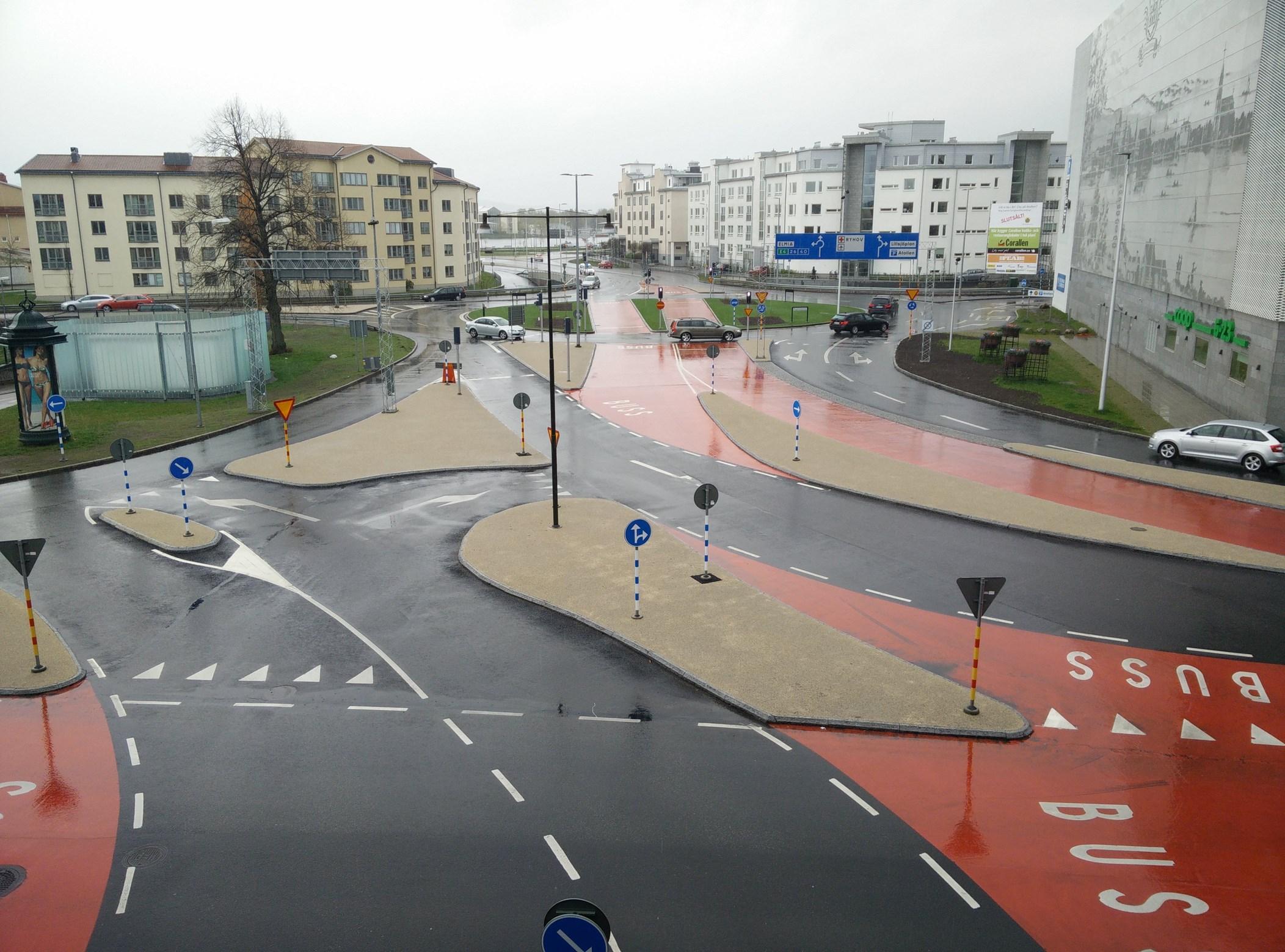 Steindekke Trafikk