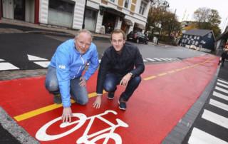 sykkelstier og sykkelveier