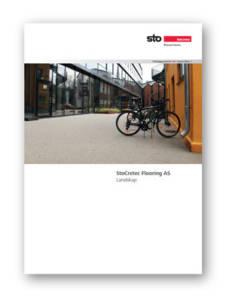 Utebelegg og landskap brosjyre
